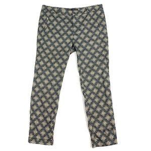 Zara Basic Pattern Pants siza 12 🍷
